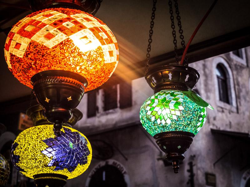 Orientalische Lampions