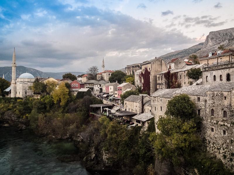 Weiter Südlich in Herzegowina. Mostar. Das Touristenziel Nummer eins!