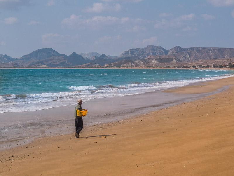 Die Küsten von Queschm